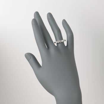 1.00 ct. t.w. 5-Stone Diamond Wedding Ring in 14kt White Gold, , default