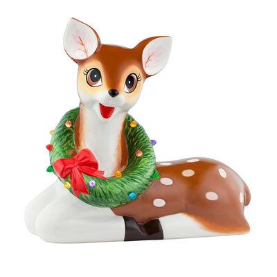 Mr. Christmas Oversized Reindeer Ceramic Figurine