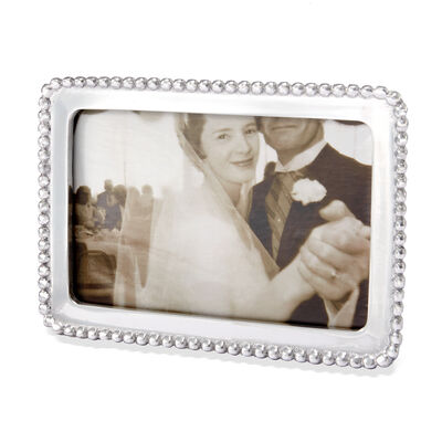 "Mariposa ""String of Pearls"" Beaded Photo Frame, , default"