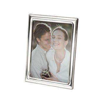 Sienna Sterling Silver Plain Border Frame , , default