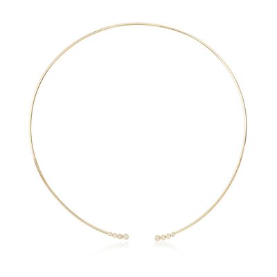 .36 ct. t.w. Diamond Open Choker Necklace in 14kt Yellow Gold, , default