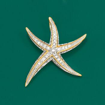 .25 ct. t.w. Diamond Starfish Pendant, , default