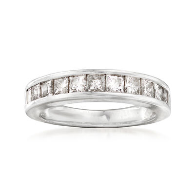 C. 1990 Vintage 1.20 ct. t.w. Diamond Ring in 14kt White Gold, , default