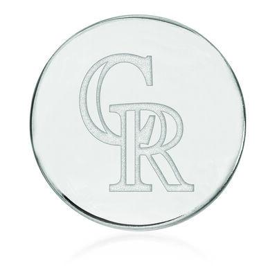 Sterling Silver MLB Colorado Rockies Lapel Pin