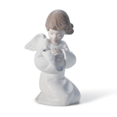 "Lladro ""Loving Protection"" Porcelain Figurine"