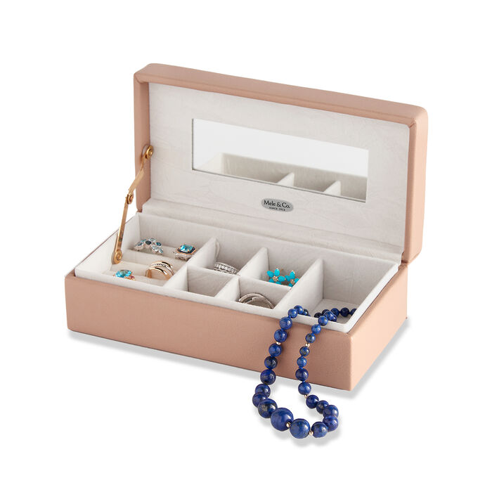 """Mele & Co. """"Nora"""" Faux Leather Jewelry Box, , default"""
