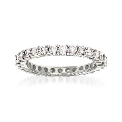 1.50 ct. t.w. Diamond Eternity Band in 14kt White Gold, , default