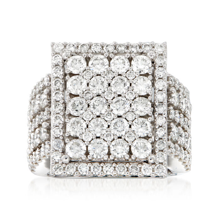 4.00 ct. t.w. Diamond Ring in 14kt White Gold, , default