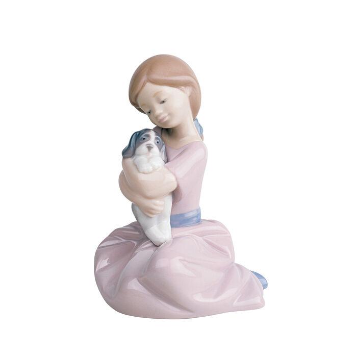 "Nao ""Puppy Love"" Porcelain Figurine"