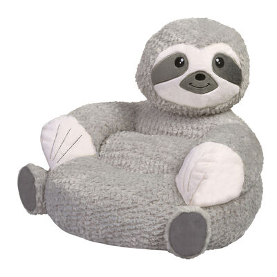 Children's Plush Sloth Chair, , default