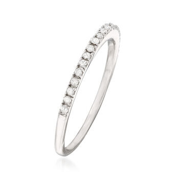.15 ct. t.w. Diamond Ring in Sterling Silver