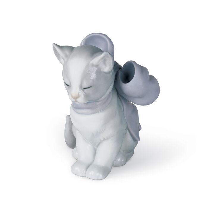 "Nao ""Kitty Present"" Porcelain Figurine, , default"