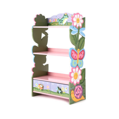 Magic Garden Children's Wooden Bookcase, , default