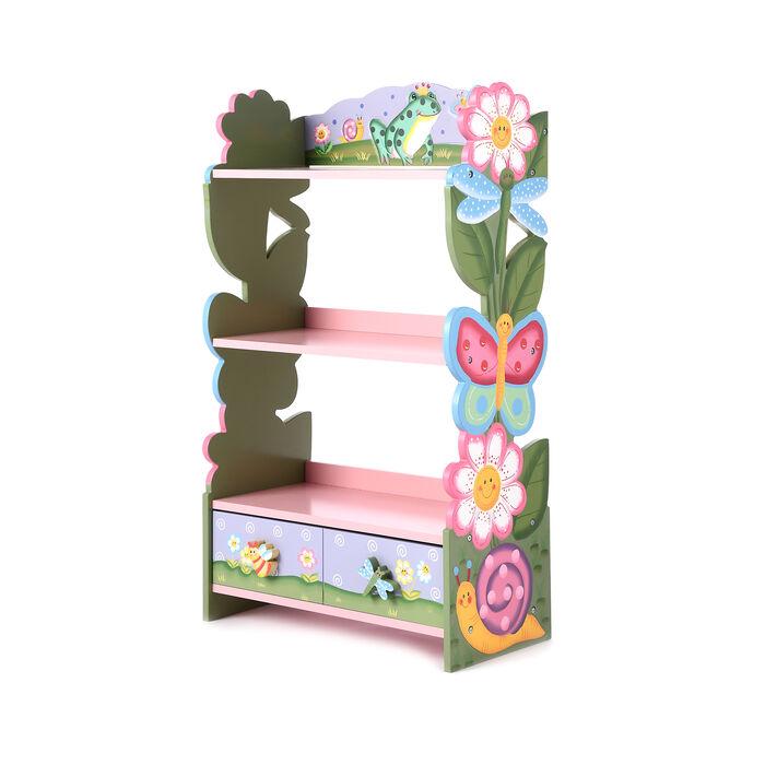Magic Garden Children's Wooden Bookcase, , default