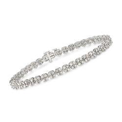 5.00 ct. t.w. Diamond Bracelet in Sterling Silver, , default