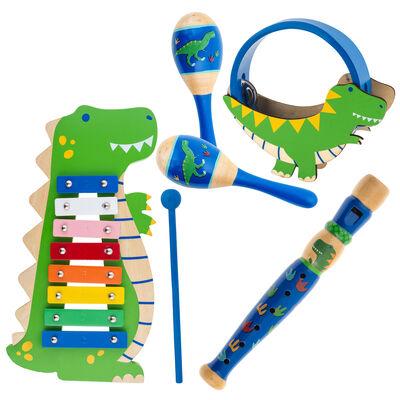 Child's 6-pc. Dinosaur Music Set by Stephen Joseph