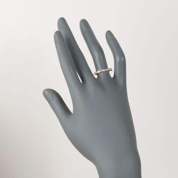 .20 ct. t.w. Bezel-Set Diamond Ring in 14kt Yellow Gold, , default