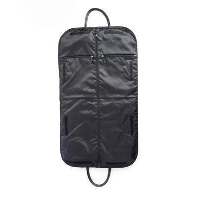 "Royce ""Executive Office"" Black Leather Garment Bag, , default"