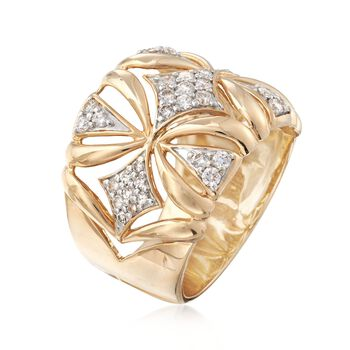 .55 ct. t.w. Diamond Ring in 14kt Yellow Gold, , default