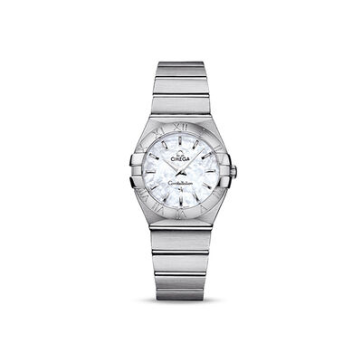 Omega Constellation Women's 27mm Automatic Stainless Steel Watch