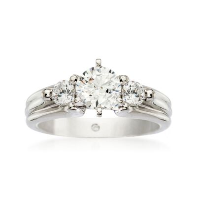 Gabriel Designs .30 ct. t.w. Diamond Engagement Ring Setting in 14kt White Gold, , default