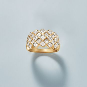 .99 ct. t.w. Diamond Ring in 14kt Yellow Gold, , default