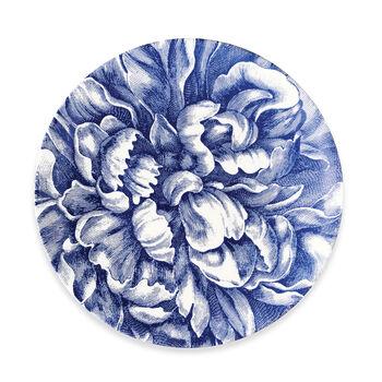 """Caskata """"Peony Blue"""" Blue and White Porcelain Dinnerware, , default"""
