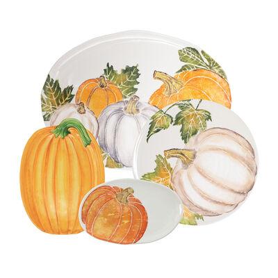 Vietri Pumpkin Serving Platter from Italy