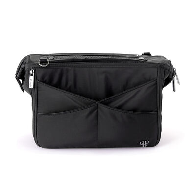 Pursen Littbag Lighted Black Nylon Purse Organizer, , default