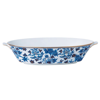 "Wedgwood ""Hibiscus"" Serving Bowl"