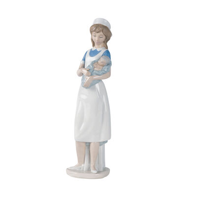 "Nao ""Nurse"" Porcelain Figurine"