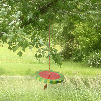 Sweet Summer Watermelon Swing with Rope, , default