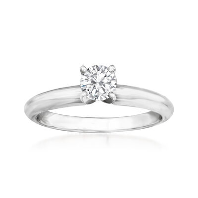 .36 Carat Diamond Solitaire Ring in 14kt White Gold