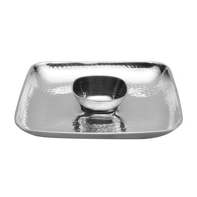 """Towle """"Hammersmith"""" Chip and Dip Platter, , default"""
