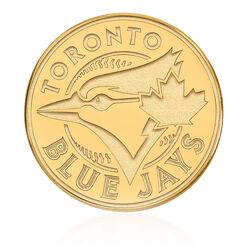 14kt Yellow Gold MLB Toronto Blue Jays Lapel Pin, , default