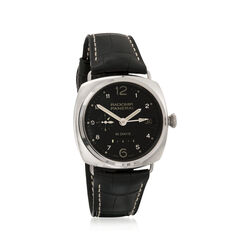 Panerai Radiomir 10 Days Gmt Power Reserve Men's 45mm Auto Mechanical 18kt White Gold Watch, , default