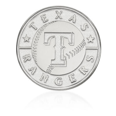 Sterling Silver MLB Texas Rangers Lapel Pin, , default