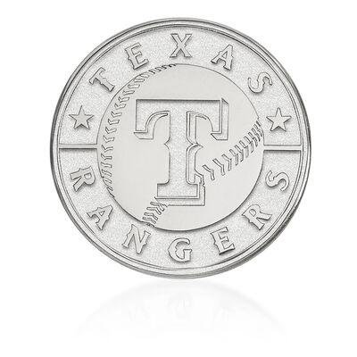 Sterling Silver MLB Texas Rangers Lapel Pin