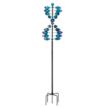 """Regal """"Helix"""" Vertical Outdoor Decorative Garden Wind Spinner, , default"""