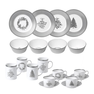 "Wedgwood ""Winter White"" Dinnerware Set, , default"