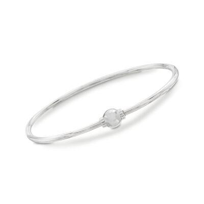 Sterling Silver Cape Cod Bangle Bracelet, , default