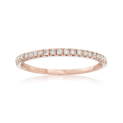 .25 ct. t.w. Diamond Stackable Ring in 14kt Rose Gold, , default