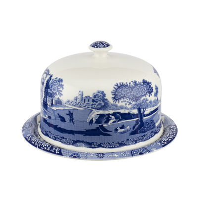 "Spode ""Blue Italian"" 2-pc. Serving Platter with Dome Cover"