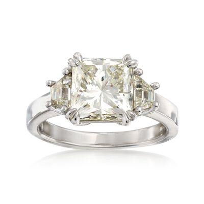 Majestic Collection 4.70 ct. t.w. Diamond Ring in 18kt White Gold, , default