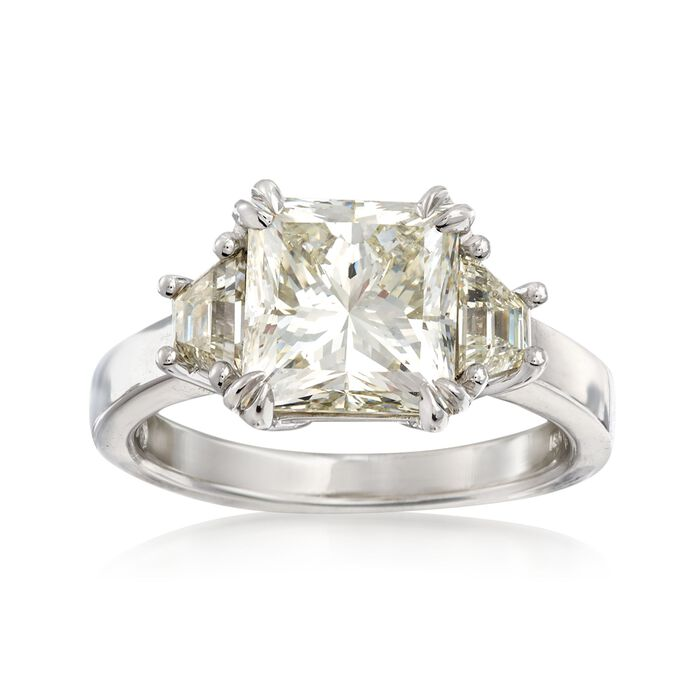 Majestic Collection 4.70 ct. t.w. Diamond Ring in 18kt White Gold