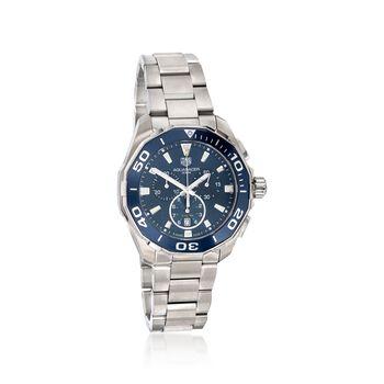 TAG Heuer Aquaracer Men's 43mm Stainless Steel Watch, , default