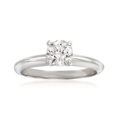 .71 Carat Diamond Ring in 14kt White Gold