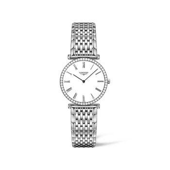 Longines La Grande Classique Women's 29mm .47 ct. t.w. Diamond Watch in Stainless Steel, , default