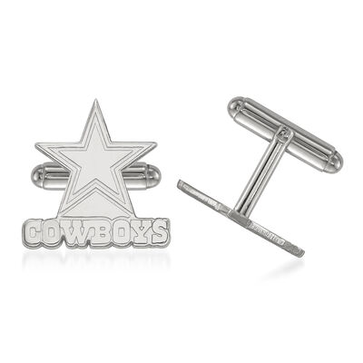 Sterling Silver NFL Dallas Cowboys Cuff Links, , default