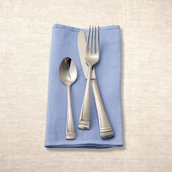 "Lenox ""Urbane"" 18/10 Stainless Steel and Platinum Flatware, , default"